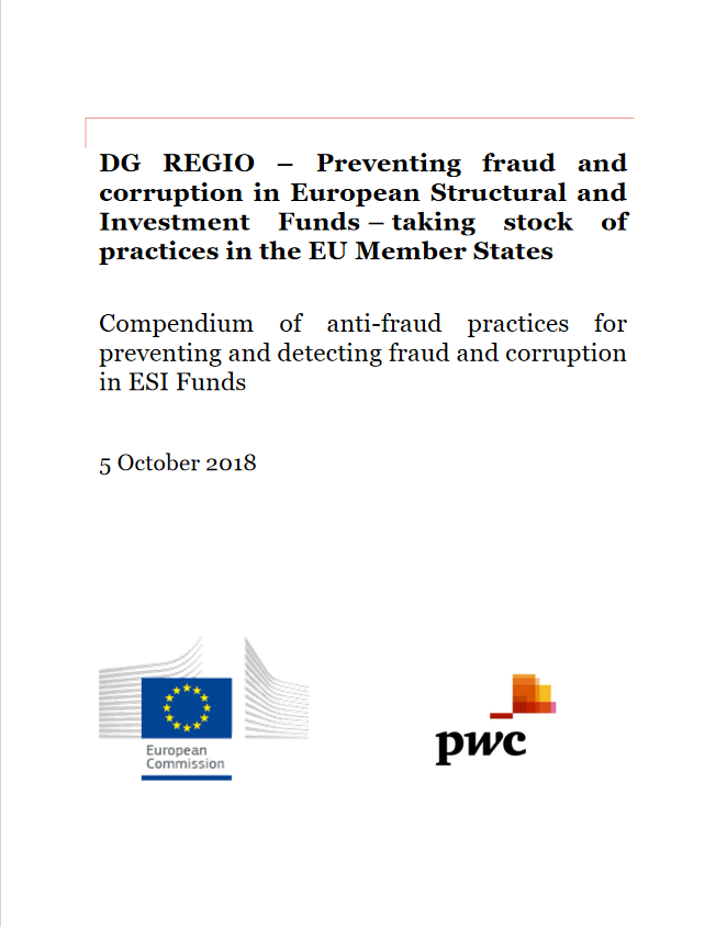Preventing fraud and corruption in European Structural and Investment Funds (DG Regio, 2018)