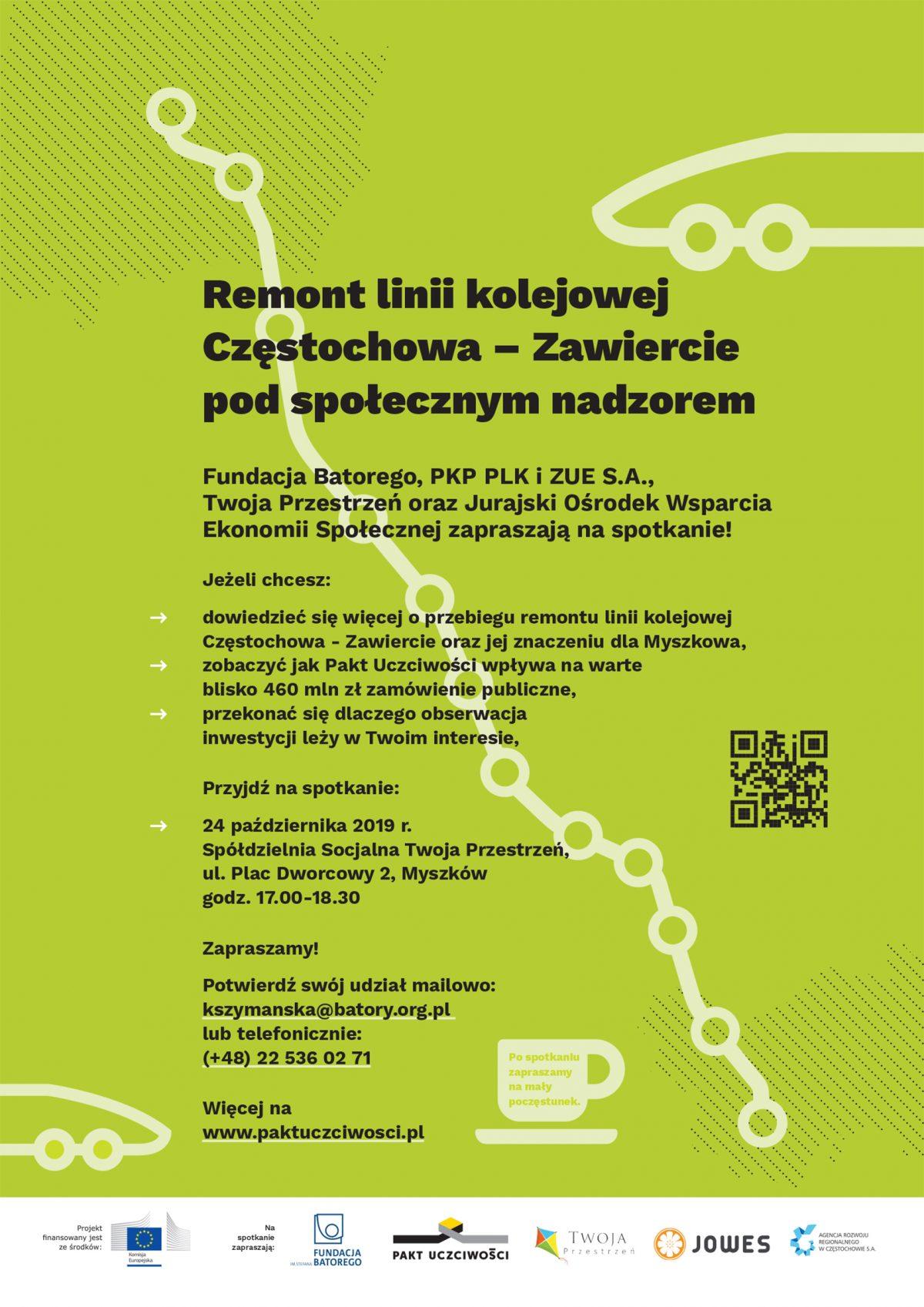 Spotkanie regionalne w Myszkowie. Zapraszamy!